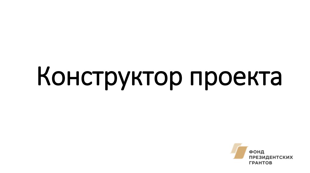 Скиперский И.А. Конструктор социального проекта